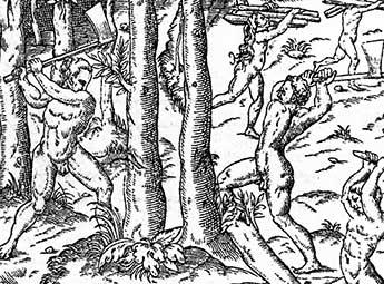 1532 – Franceses no litoral do Brasil
