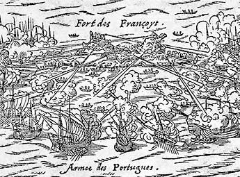 1560 – Combate contra os franceses