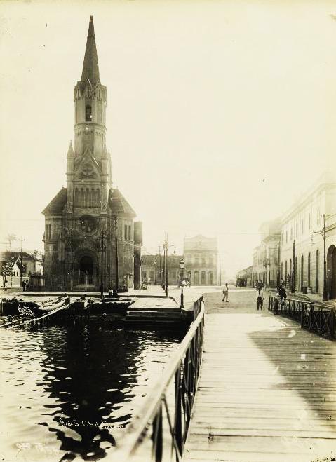(1) Igreja de São Cristóvão. Augusto Malta. Acervo da Fundação Biblioteca Nacional - Brasil