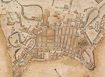 1775 – Planta da cidade